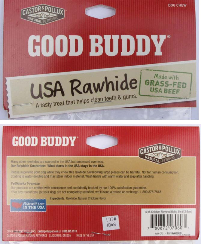 The Clearly Labeled Rawhides