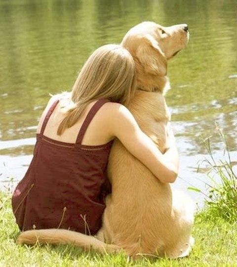 Η προσευχή του ανθρώπου στον σκύλο...